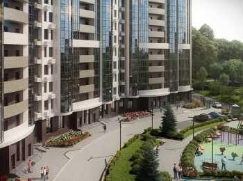 Дворовая территория жилого комплекса